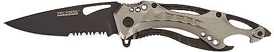 TAC Force TF-705 Series Assisted Opening Tactical Folding Knife Half-Serrated...