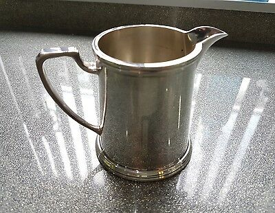Epns Silver Soldered A1 Cream/milk  Jug By W.b & S Ltd Of Sheffield.