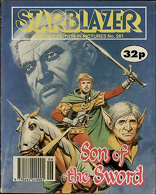 Son Of The Sword,starblazer Fantasy Fiction In Pictures,comic,no.261,1990