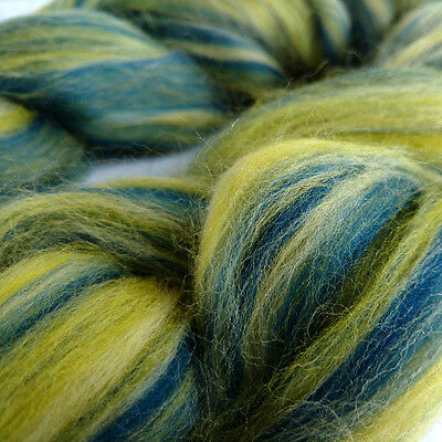 Blended Merino Wool Roving, Butterfly Collection, Spinning Felting Dreads 100g
