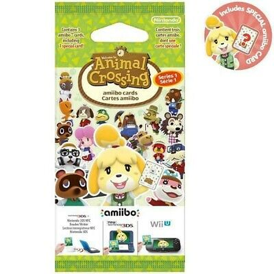 AMIIBO ANIMAL CROSSING SERIES 1 CARDS Pick Your Own 001-100 Nintendo 3DS & WII