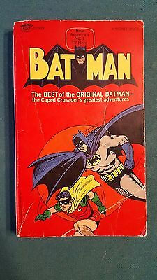 Rare 1966 Batman and Robin Paperback Book Comic Book 1st Printing