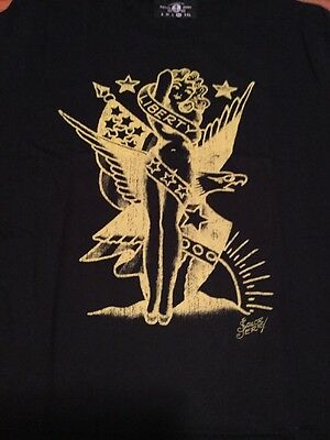 Sailor Jerry Rum Licensed Death Or Glory Handmade In USA Men's Xl T-shirt New