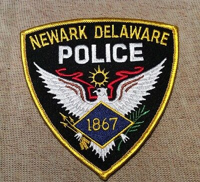 DE Newark Delaware Police Patch