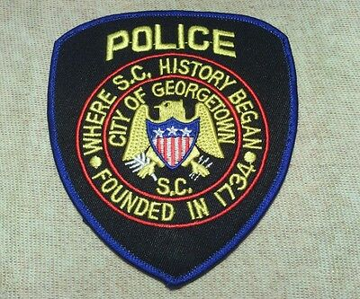 SC Georgetown South Carolina Police Patch