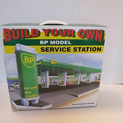 BP Service Station - Build Your Own - Model Replica - New