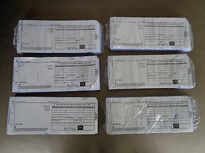 Manual Credit Card Imprinter Sales Draft Slips 100 Per Pack 2PT