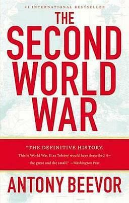NEW The Second World War By Antony Beevor Paperback Free Shipping