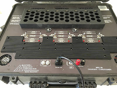 McDOWELL RESEARCH  MRC-38 BATTERY CHARGER-CONDITIONER   ( MRC38 Ultralife Corp)