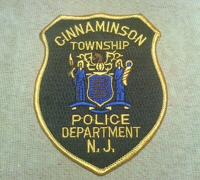 NJ Cinnaminson Twp. New Jersey Police Patch