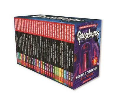 NEW Goosebumps Monster Collection By R.L Stine Boxed, Slipcased or Casebound