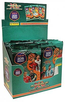 Panini Adrenalyn Xl Road To 2018 Fifa World Cup Sealed Box 50 Packs Soccer