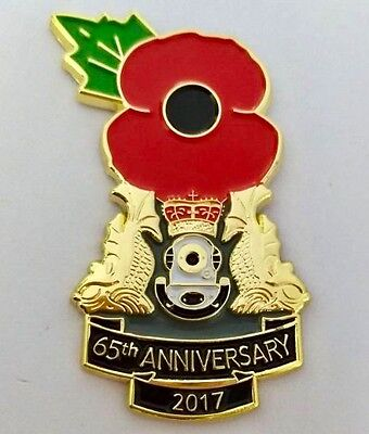 Royal Navy Clearance Diver 2017 65th Anniversary Poppy pin (Siebe Gorman)