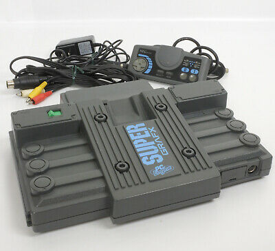 PC ENGINE SUPERGRAFX set, with RGB mod and Box  USA Seller
