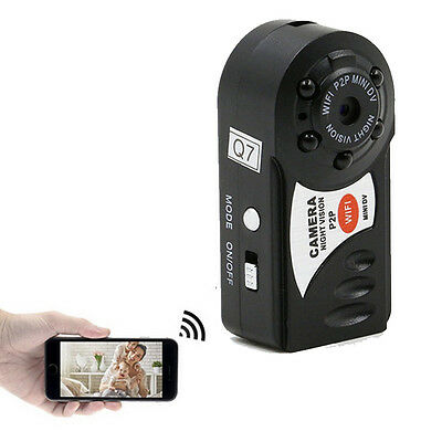 BEST mini HD REAL TIME WIRELESS WIFI HIDDEN SPY VIDEO CAMERA -TINY SMALL CAMERAS