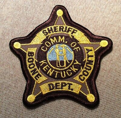 KY Boone County Kentucky Sheriff Patch