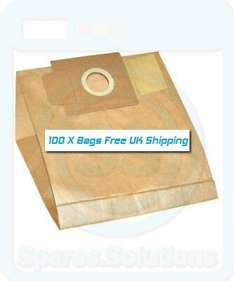 Vacuum Cleaner Dust Bags for EIO Storm Topo Twister -Pack Of 100- 01, 87 Type