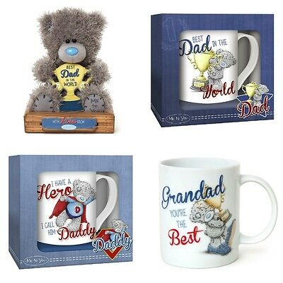 Me to You Tatty Teddy Bear Fathers Day Best Dad Daddy Grandad Gift Collection