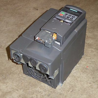 Siemens Micromaster 440 2.2kW 3 phase 8.8A inverter drive industrial pumps fans