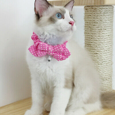 Various Cute Cloth Pet Collar Bowknot Necktie for Small Cat Kitten Dogs