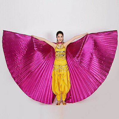 Professional Egypt Belly Isis Wings 360º Dancing Costume Belly Dance Accessorie