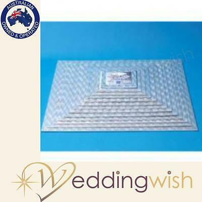 PME Sugarcraft 8 inch Square Cake Cards