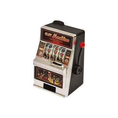 Salvadanaio Slot Machine Con Luci E Suoni A Batterie Idea Regalo