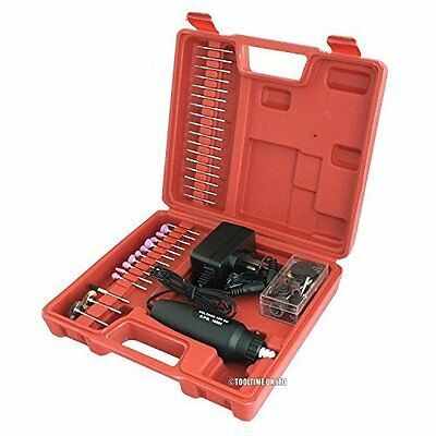 240V Multi-Tool Dremel Style Mini Rotary Hobby Craft Drill + 60 Accessories Case
