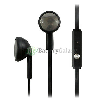 100 Headphone Earphone Headset Handsfree 3.5mm for iPhone / Android Cell Phone