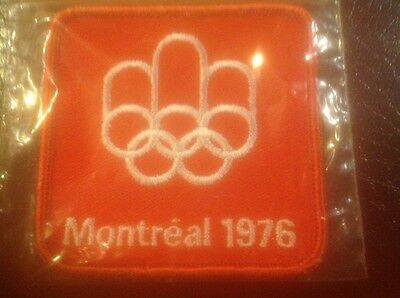Again Reduced to sell !! 1976 Montreal Olympic Games cloth badge Perfect