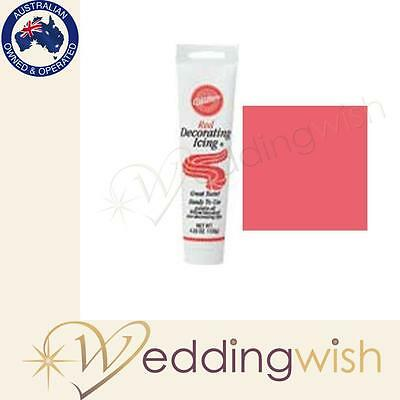 Wilton Red Ready-To-Use Icing Tubes