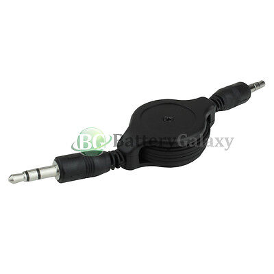 20 Retractable 3.5mm AUX Auxiliary Cable for Apple iPhone 6 6S 7 7S 8 8S Plus