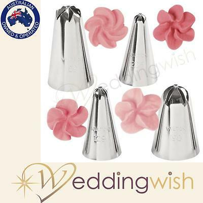 Wilton 4-Pc. Drop Flowers Tip Set