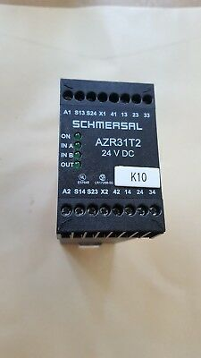 Schmersal AZR31T2-24VDC Safety Relay (R4S7.7B4)