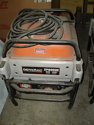 Generac Xt 8000-Running-Watt, 12000 Starting Watts, Portable Generator