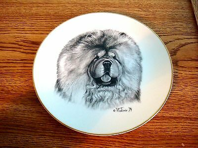 Chow Chow Dog Plate By Rosalinde 1994  - The Best In Show