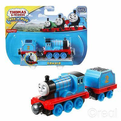 New Thomas & Friends Edward Take-N-Play Die Cast Magnetic Train Engine Official