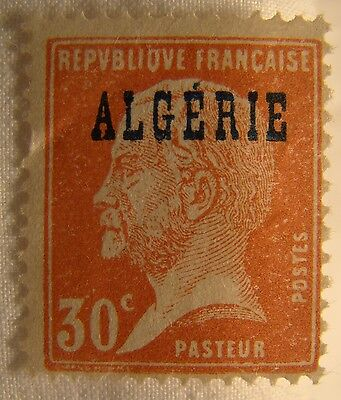 Algeria Stamp 1924 Scott 14 A23a  Unused Overprint