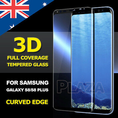 Galaxy S8 S8 Plus Genuine 3D Tempered Glass Full Cover Guard Screen Protector
