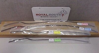 Toyota Tundra 2007 - 2017 Double Cab Painted 4U3 Door Edge Guards Genuine OEM OE