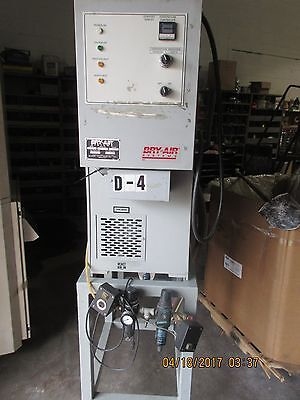 Bry-Air Systems Model RD-50 Dryer for Plastics for Extrusion/Injection Molding