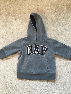 Toddler Boys GAP Fleece Hoodie 6-12 Months