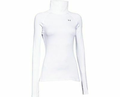 Under Armour Women's ColdGear Cozy Neck - White XS