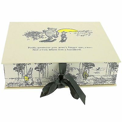 Officially Licensed Winnie The Pooh Cream Memories Box