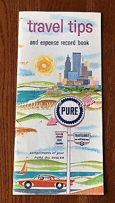 VTG Pure Oil Company Travel Tips And Expense Record Book