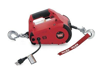 Warn Winch Lifting Pulling Hoist Cable Electric Ton LB Hook Truck ATV Tool Pull