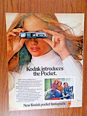 1972 Kodak Camera Ad   Kodak Introduces the Pocket Instamatic