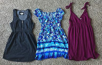 Lot Of Juniors Womens Summer Dresses Size Small