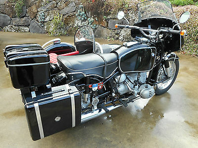 BMW R60/2 with Steib S501 Sidecar.