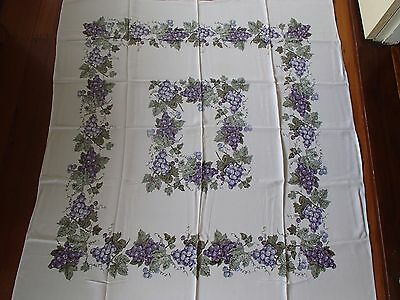 Vintage Fruity Table Cloth